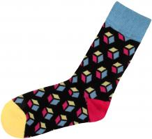 Socken bunt mit lustigen Motiven Print Socken Motivsocken Damen Herren