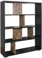 Raumteiler Svenja inkl. 4 Stellfüße B 120 cm H 146 cm T 31 cm braun