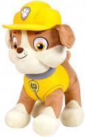 Bulldogge Rubble | Paw Patrol | 28 cm Welpe | Plüsch-Figur-Tier Softwool