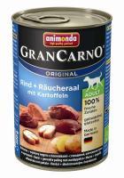 Animonda Dog Dose GranCarno Adult Rind & Räucheraal mit Kartoffel 400g