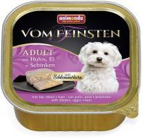 Animonda Dog Vom Feinsten Schlemmerkern mit Huhn, Ei & Schinken 150g