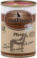 Landfleisch Wolf Sensibel Dose 100% vom Pferd 400g