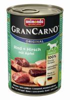 Animonda Dog Dose GranCarno Adult Rind & Hirsch mit Apfel 400g
