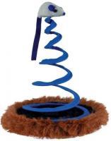 Trixie Spielmaus auf Spiralfeder - ca. 19 x 25 cm