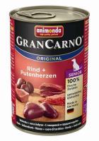 Animonda Dog Dose GranCarno Senior Rind & Putenherzen 400g