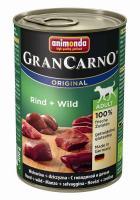 Animonda Dog Dose GranCarno Adult Rind & Wild 400g
