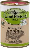 Landfleisch Wolf Dose 100 % aus Rinderpansen 400g