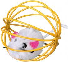 Trixie Spielmaus im Gitterball