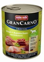 Animonda GranCarno Adult Rind & Kaninchen mit Kräutern 800g