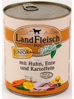 Landfleisch CLassic Junior Huhn & Ente & Kartoffeln mit Frischgemüse 800g