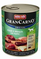 Animonda GranCarno Adult Rind, Hirsch & Apfel 800g