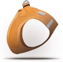 Curli Vest Geschirr Air-Mesh Orange XS für Hunde