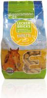 Eggersmann Lecker Bricks Karotte 2,5 kg Pferdeleckerli