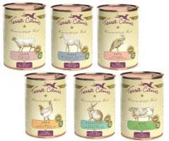 Terra Canis 12 x 400 g Dosen gemischt Hundefutter