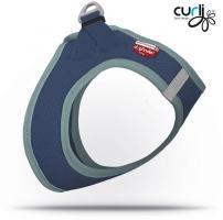 Curli Vest Hundegeschirr Air-Mesh Deep-Mint L für Hunde