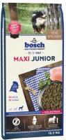 15 kg Bosch Maxi Junior Hundefutter für Welpen großer Rassen