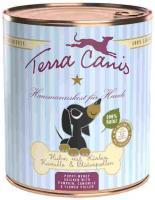 Terra Canis Hund Welpe Dose mit Geflügel Welpenfutter 6 x 800g nass