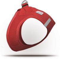 Curli Vest Geschirr Air-Mesh Rot XS für Hunde