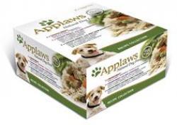 4 x Applaws Recipe Selection Huhn Multipack je 8 x 156g Dose Hundefutter