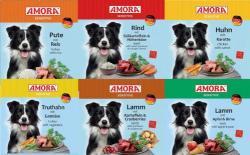 Amora Sensitive 12 x 800g Dosen Nassfutter Hundefutter