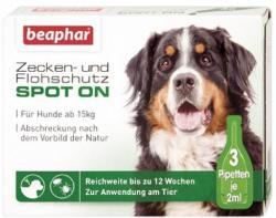 Beaphar Zecken- & Flohschutz SPOT-ON 3x2ml für Hunde ab 15kg