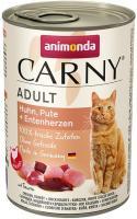 Animonda Carny Adult Huhn & Pute & Entenherzen 6 x 400g Dose Katzenfutter