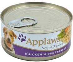 Applaws Huhn, Gemüse & Reis 12 x 156g Dose Hundefutter