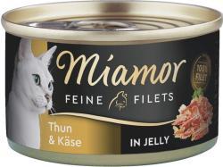 Miamor Feine Filets Thunfisch & Käse 24 x 100g
