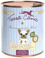 Terra Canis Hund Dose Welpe mit Lamm 6 x 800g Welpenfutter nass