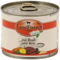 Landfleisch Dog Pur Rind & Reis extra mager 12 x 195g