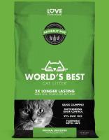 Worlds Best Cat litter GRÜN clumping 3,18 kg Katzenstreu