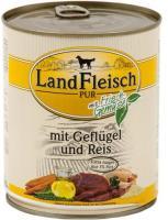 Landfleisch Dog Pur Geflügel & Reis extra mager 6 x 800g