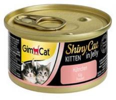 Gimpet Dose ShinyCat Kitten Hühnchen 24 x 70g
