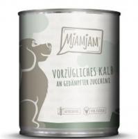 MjAMjAM vorzügliches Kalb an gedämpfter Zucchini 6 x 800g Dose Hundefutter