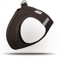 Curli Vest Geschirr Air-Mesh Braun XS für Hunde