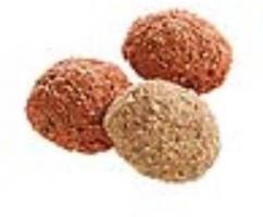 Monties Erdbeer & Vanille Snack 10 kg extrudiert Allco Pferdeleckerlies
