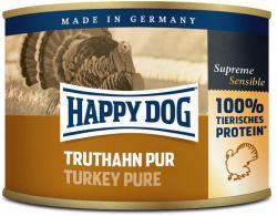 12 x 200g Dose Happy Dog Truthahn Pur getreidefrei 100% tierisches Protein