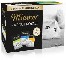 Miamor Pouchbeutel Ragout Royale Kaninchen, Thunfisch & Huhn in Jelly 12 x 100g