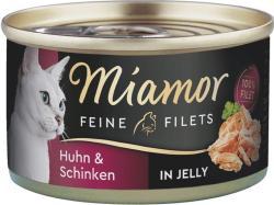 Miamor Feine Filets Huhn & Schinken 24 x 100g