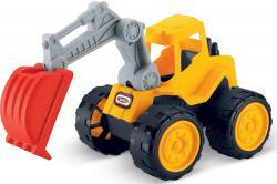 Luna Super Construction Truck Bagger Schaufelbagger Baustellen Fahrzeug +3J