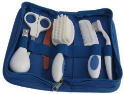 Reer 10 tlg Baby-Pflegeset Bürste Kamm Nagelschere Nagelfeile Zahnbürste