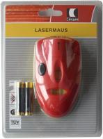 Lasermaus Wasserwaage Linienlaser + Batterien Messgerät Horizontal Laser Messer