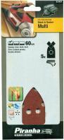 5x Black&Decker Multi Schleifpapier 40/60/80/120 Klett Schleif Blätter Scheiben