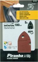 Black&Decker Multi Schleifpapier Set 40/60/80/120 Schleif Blätter Scheiben