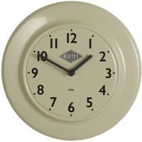 Laursen - Wanduhr  CPH 1936  Grün Ø 24cm (0700-81) Retro Uhr Küchenuhr Bürouhr