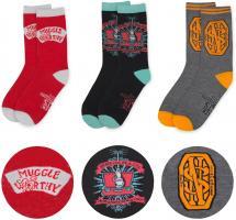 Strümpfe Socken FANTASTIC BEASTS Einheitsgröße Damen Herren 3'er Set Auswahl