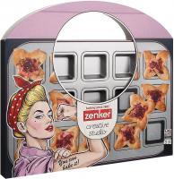 15er Snack Backblech eckig Muffin Muffinblech Rosa Creative Studio Zenker 7476