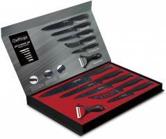Messer Kochmesser Sparschäler Messerset 6-tlg. Cheffinger CF-MB01