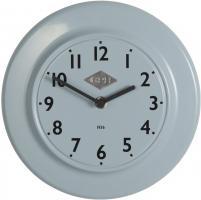 Laursen - Wanduhr  CPH 1936  Blau Ø 24cm (0700-68) Retro Uhr Küchenuhr Bürouhr
