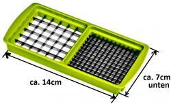 Genius Ersatzteil Nicer Dicer Kompakt / Smart Messereinsatz 5x5 mm + 10x10 mm